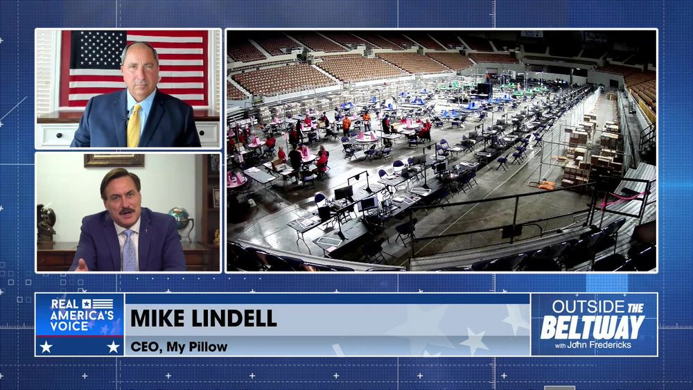 Mike Lindell CEO of My Pillow Joins to Talk About The Arizona Audit