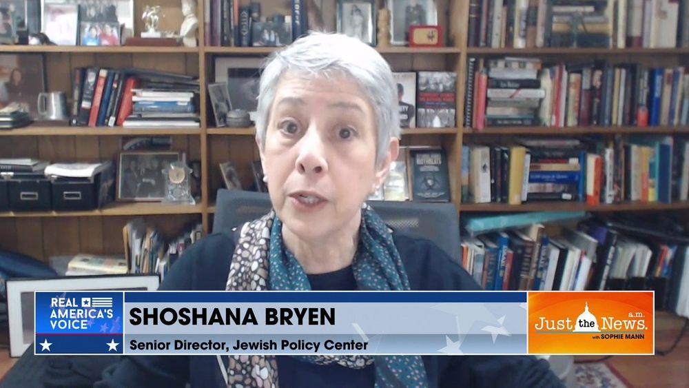 Shoshana Bryen, Senior Director, Jewish Policy Center - Biden admin indirectly supporting Iran