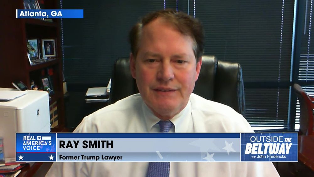 John Fredericks is Joined By Former Lawyer for Trump's GA Election Contest, Ray Smith