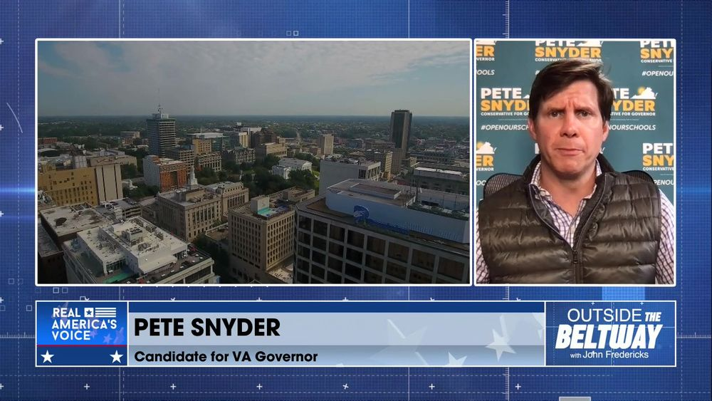 Pete Snyder Joins to Discuss The Upcoming Election in Virginia