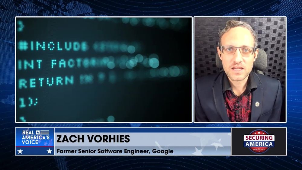 Zach Vorhies delves into Big Tech censorship and Machine Fairness Learning AI