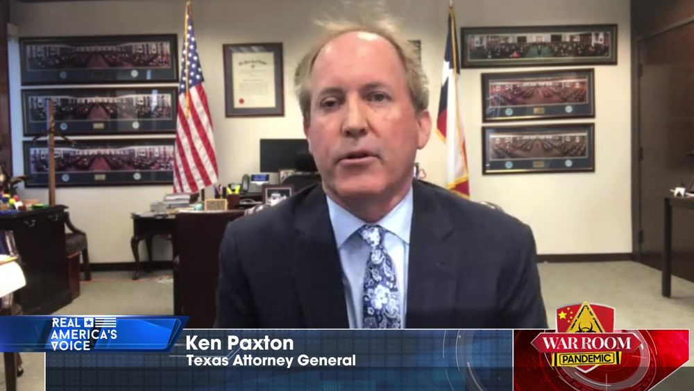 Ken Paxton Joins War Room to Discuss the Number of Executive Orders Joe Biden has Issued