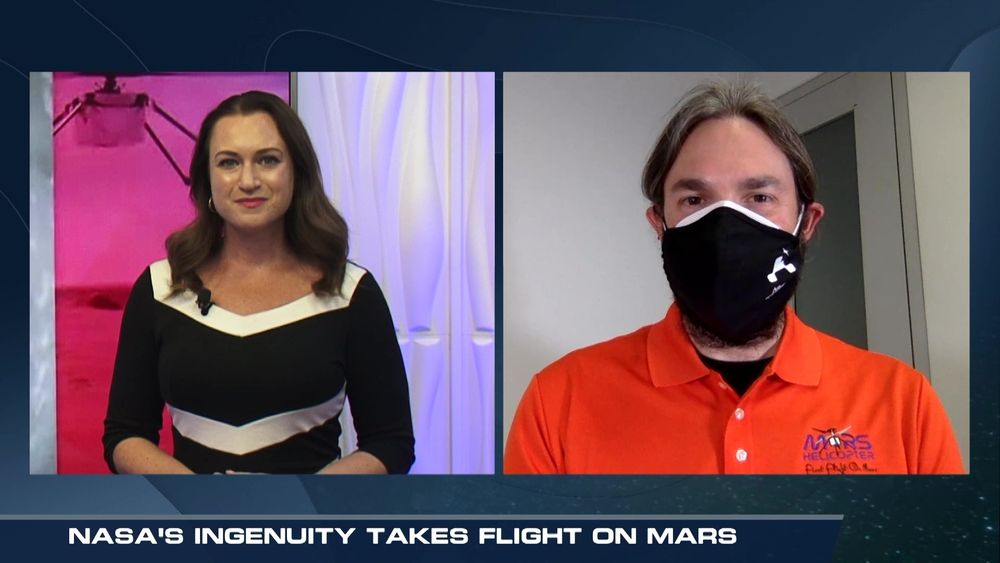 WeatherNation's Meredith Garofalo Interviews NASA About Ingenuity Helicopter Flight