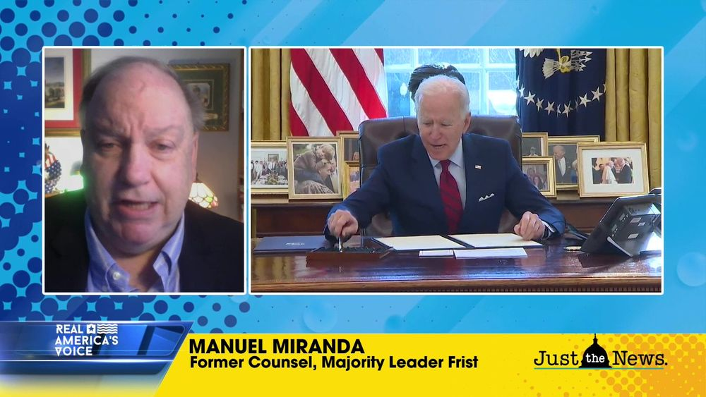 MANUEL MIRANDA, FMR. COUNSEL TO MAJORITY LDR. FRIST, ON BIDEN'S IMMIGRATION EXECUTIVE ORDERS