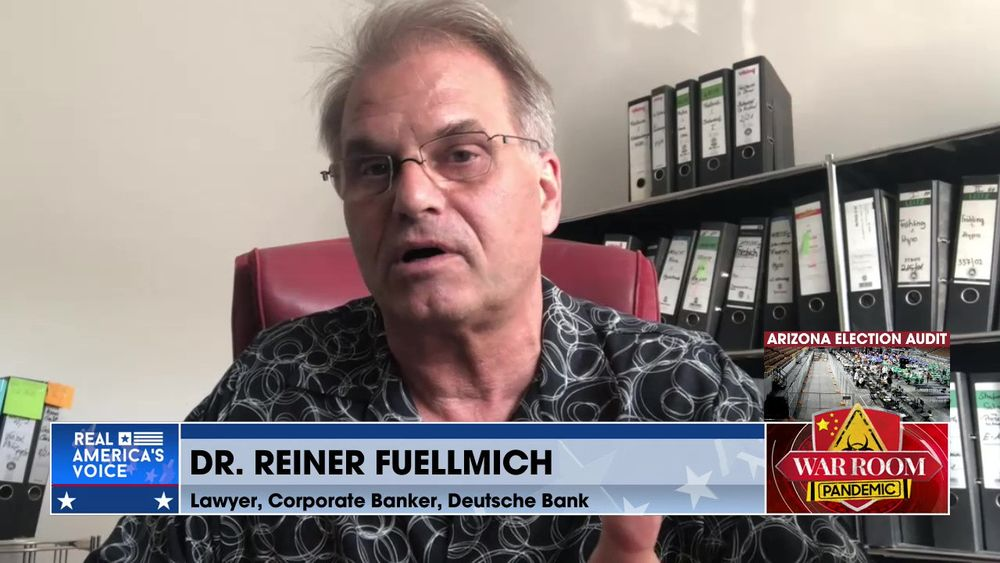 Dr. Reiner Fuellmich  Continues the Discussion on the Origins of the Pandemic