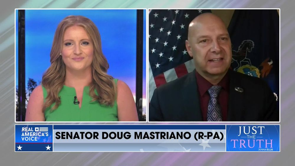 Jenna Is Joined By Senator Doug Mastrian (R-PA) For The Public Square