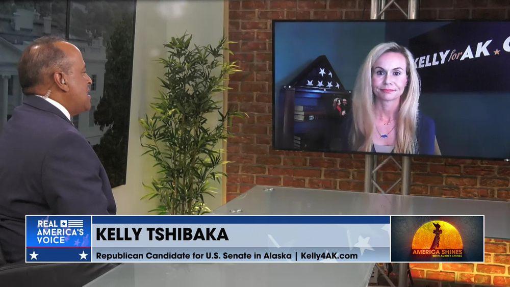 Aubrey is Joined by Republican Candidate for U.S. Senate in Alaska, Kelly Tshibaka Pt 2