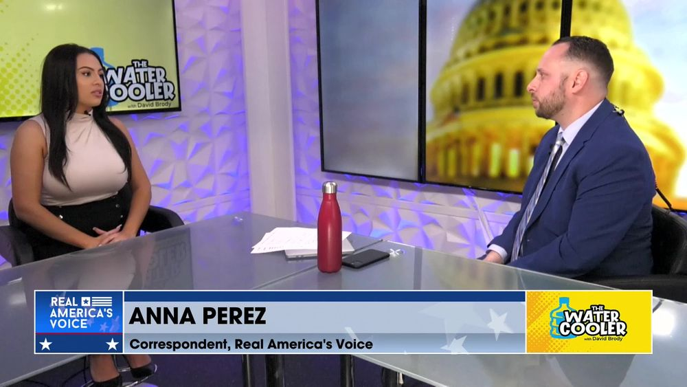 Anna Perez, Real America's Voice Correspondent on the media coverage of BLM leader home