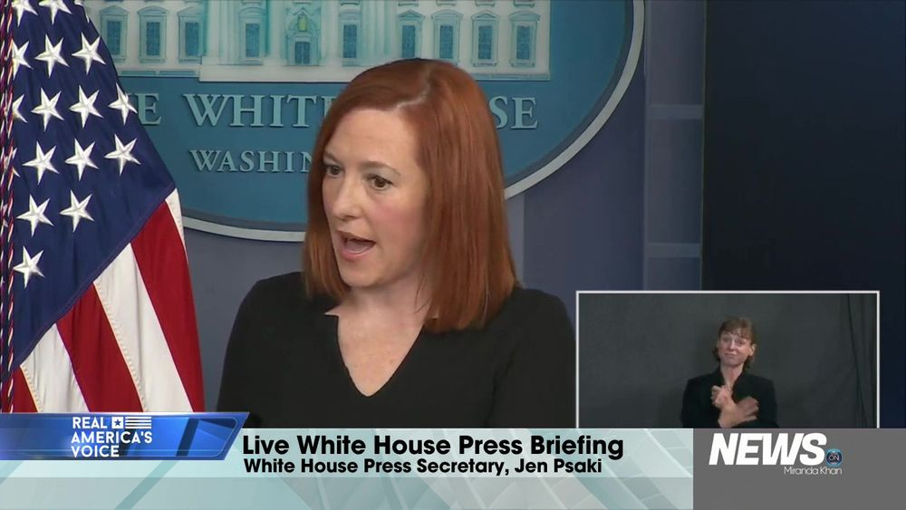 Live Press Conference With White House Press Secretary Jen Psaki