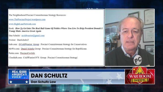 Dan Schultz Joins War Room to Discuss the Becoming a Precinct Committeeman