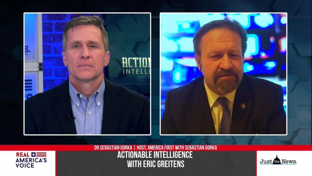 Eric Greitens Talks With Dr. Sebastian