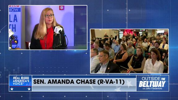 VA Senator Amanda Chase; Traveling VA with the Next Governor Glenn Youngkin