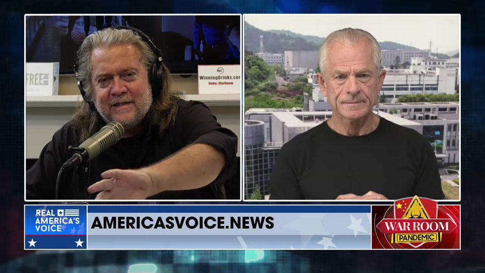 War Room Pandemic with Stephen K Bannon Episode 980 Part 2