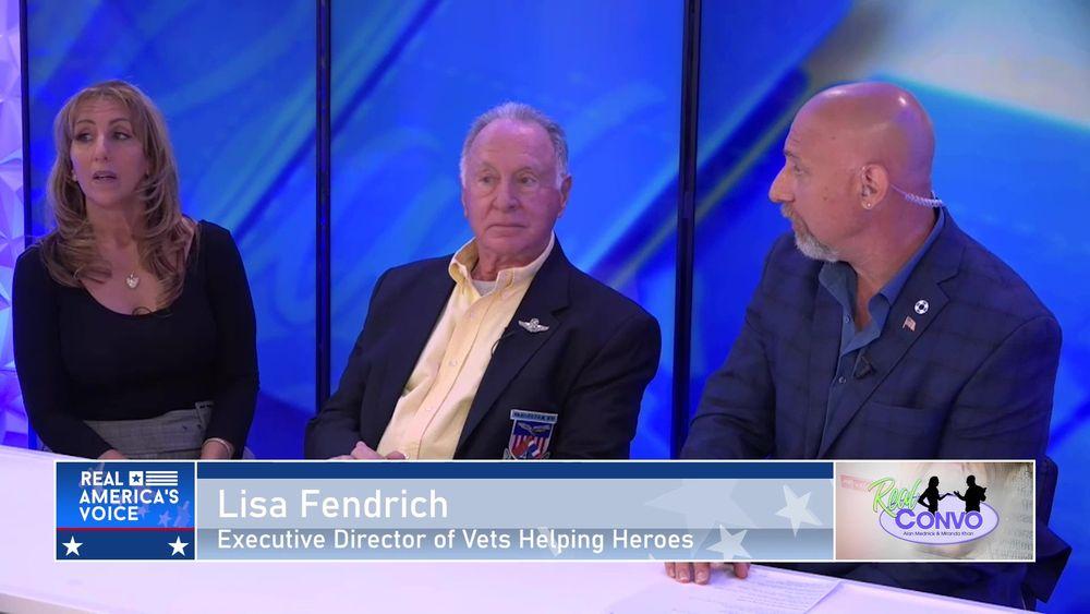 Lisa Fendrich Discusses Service Animals for Veterans