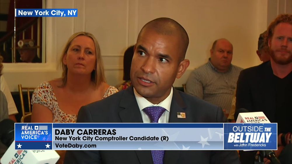 Daby Carreras; Candidate NYC Comptroller Will Win and Fix This Country