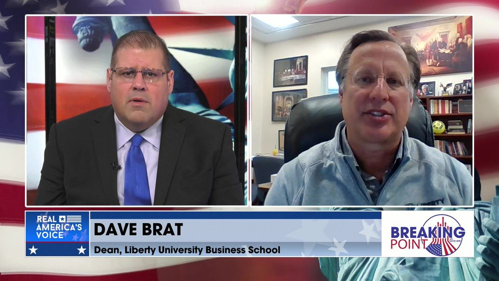 David Zere Is Joined By Liberty University Business School Dean, Dave Brat