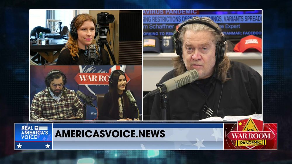 War Room Pandemic with Stephen K Bannon Episode 776 Part 4