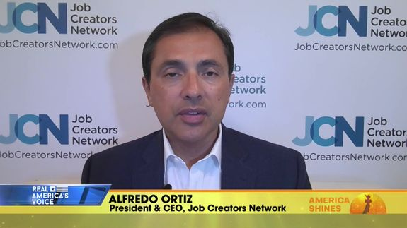 Aubrey Shines is Joined by President & CEO of Job Creators Network, Alfredo Ortiz