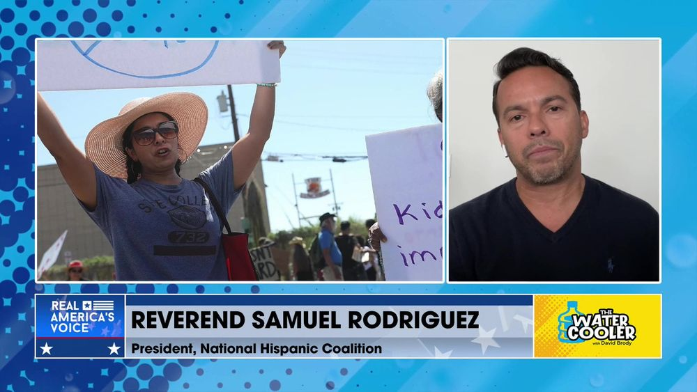 """REV. SAMUEL RODRIGUEZ ON BIDEN ADMINISTRATION AND KIDS IN CAGES: """"IT'S HYPOCRISY ON STEROIDS."""""""