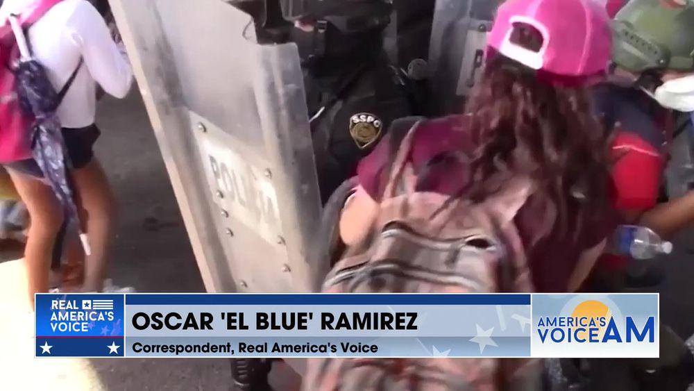 Correspondent Oscar 'Blue' Ramirez Gives A Border Update