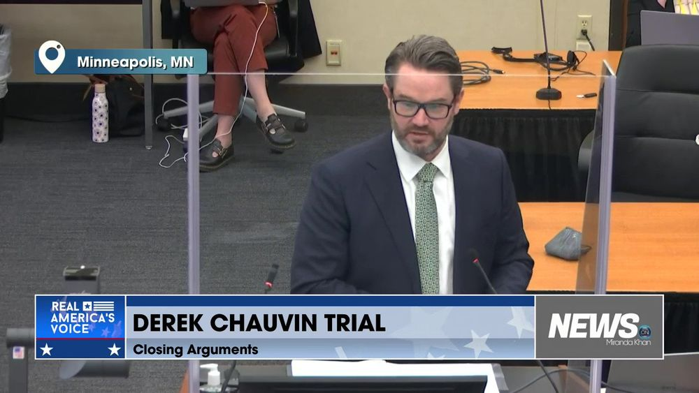 Closing Arguments Continue Right Now On The Chauvin Trial