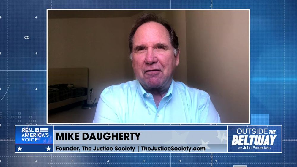 John Fredericks is Joined By Founder of The Justice Society, Mike Daugherty