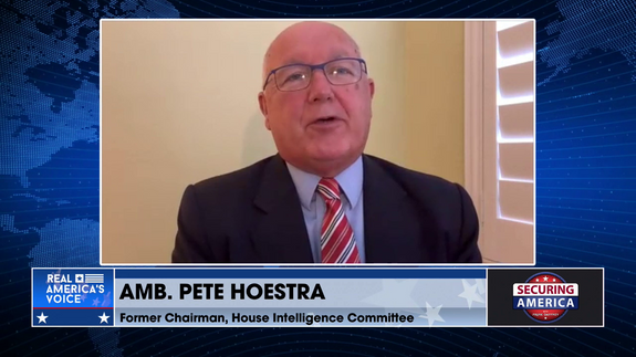 Amb. Pete Hoekstra talks about the politicization of the US intel community and Huawei