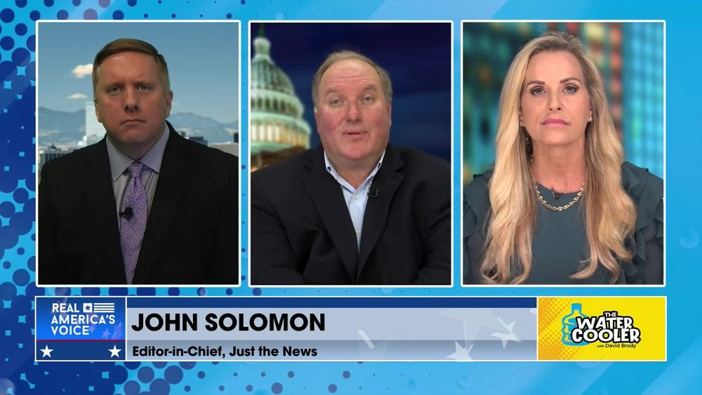 David Oliver & Karyn Turk Guest Host Water Cooler, and Are Joined By John Solomon
