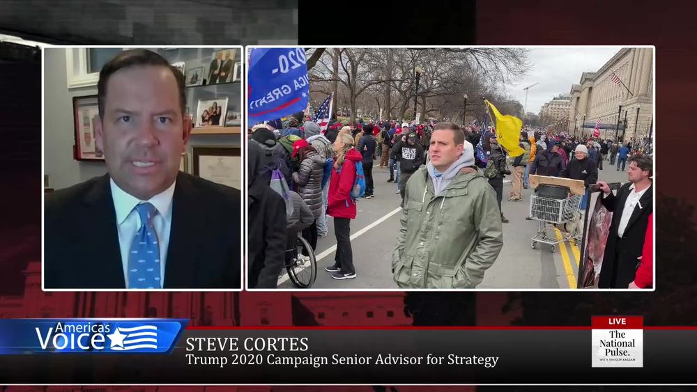 Raheem talks with Steve Cortes about the protest in Washington yesterday.