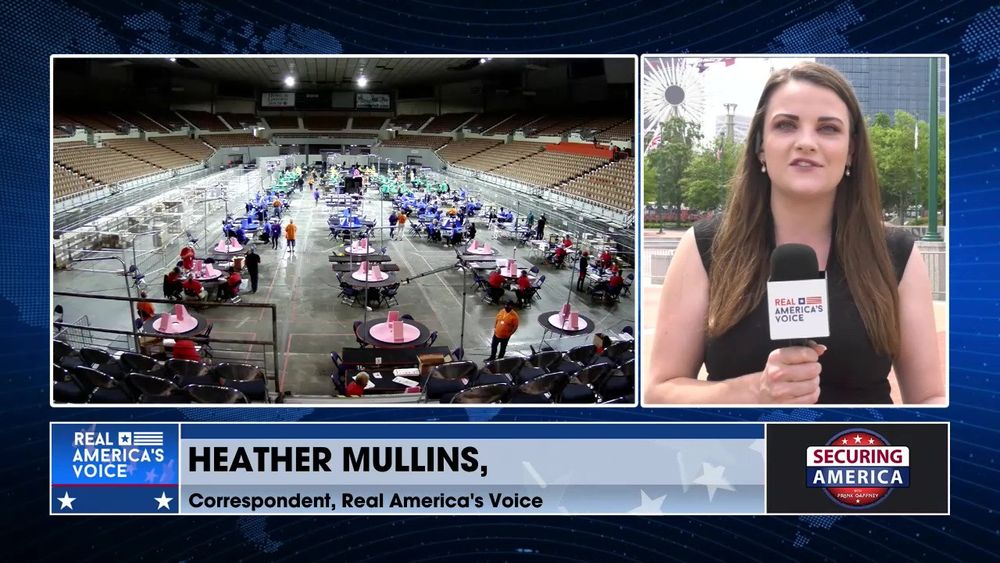 Heather Mullins gives an update on the election recount efforts in Georgia