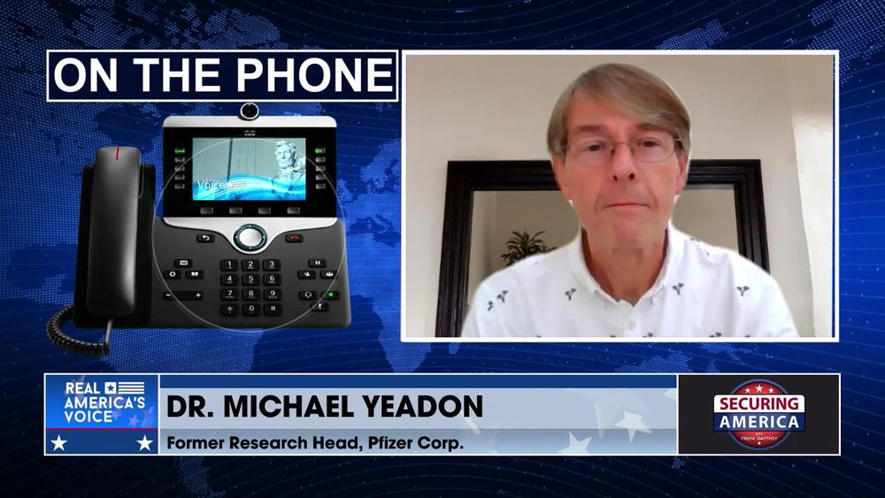 Michael Yeadon, Chief Scientific Officer for Allergy and Respiratory at Pfizer talks about vaccines