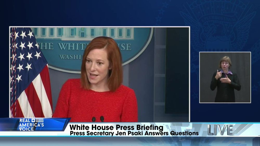 White House Press Secretary Jen Psaki Holds a Press Briefing