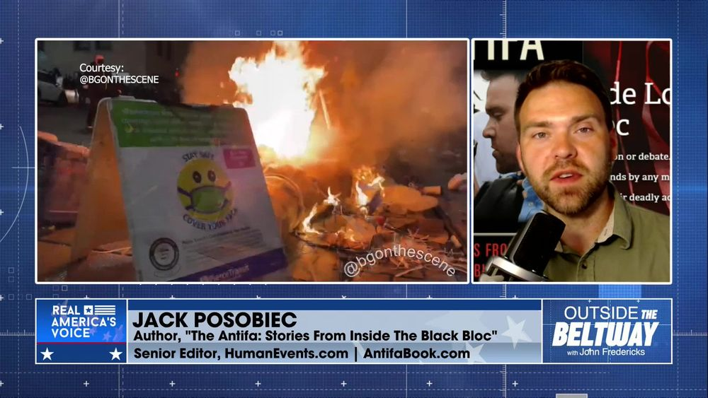 """Amanda Head is Joined by Jack Posobiec, Author, """"The Antifa: Stories From Inside The Black Bloc"""""""