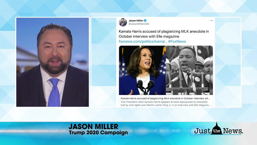 Jason Miller, Trump 2020 Campaign - Trump goal is to uncover fraud not to overturn election