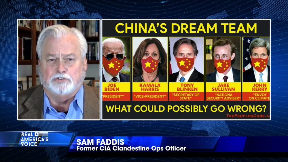 "Sam Faddis talks about Biden's ""Legion of Villains"" and China's ""Dream Team"""