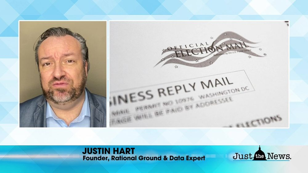 Justin Hart, Founder, Rational Ground and Data Expert - Breaking down election anomalies