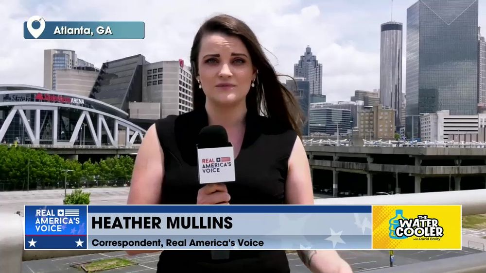 Heather Mullins, Real America's Voice Correspondent on the Fulton County, GA Election Audit