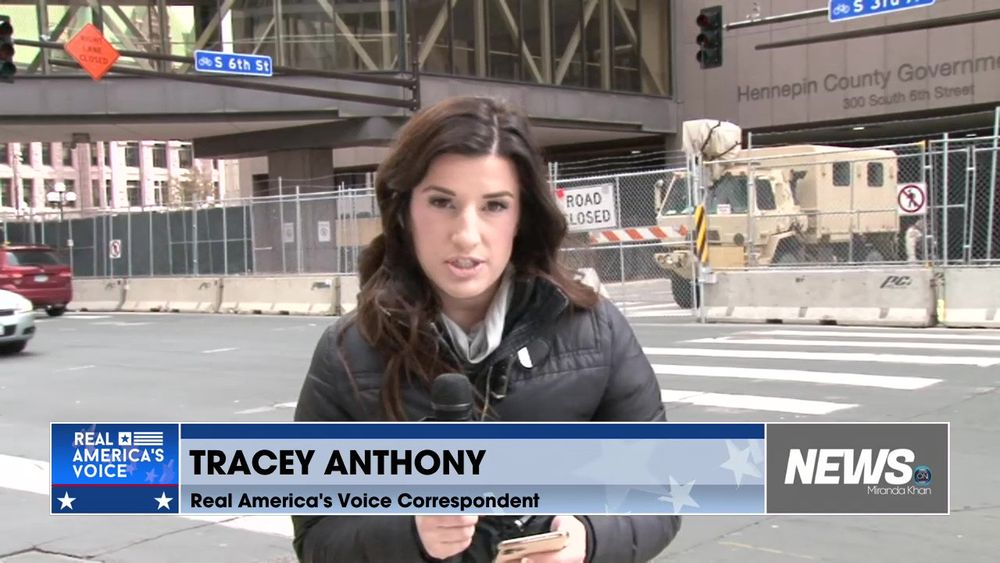 Live Update From Minneapolis With Real America's Voice Correspondent Tracey Anthony