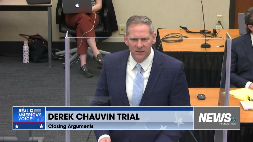 Closing Arguments Continue On The Chauvin Trial