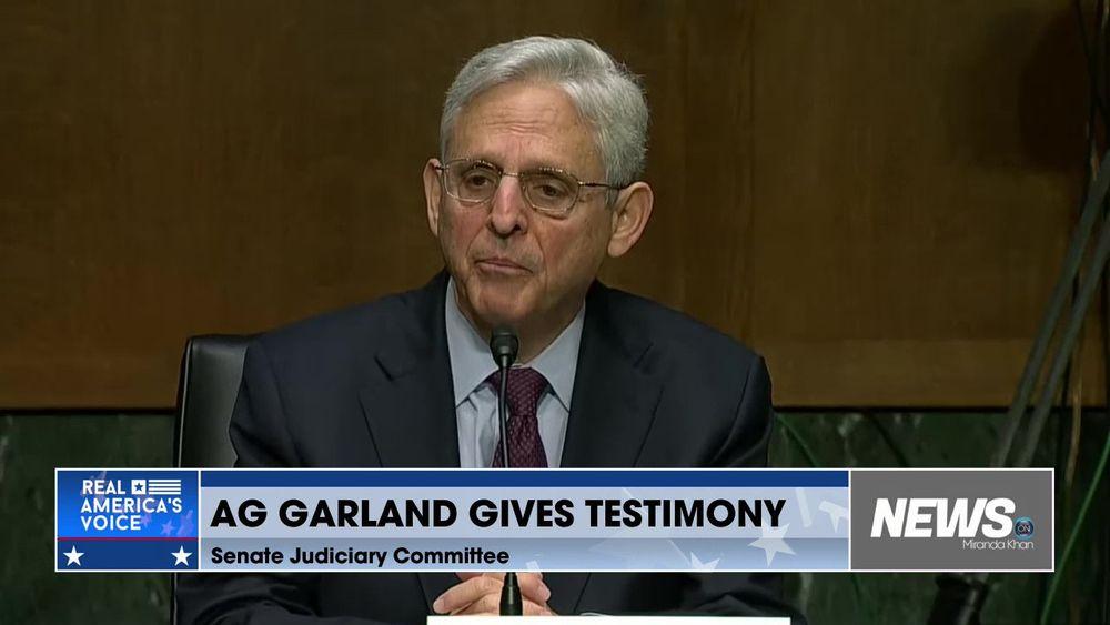 AG Garland Gives Testimony Before Senate Judiciary Committee