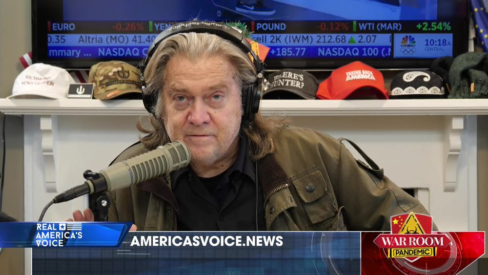 War Room Pandemic with Stephen K Bannon Episode 700 Part 2