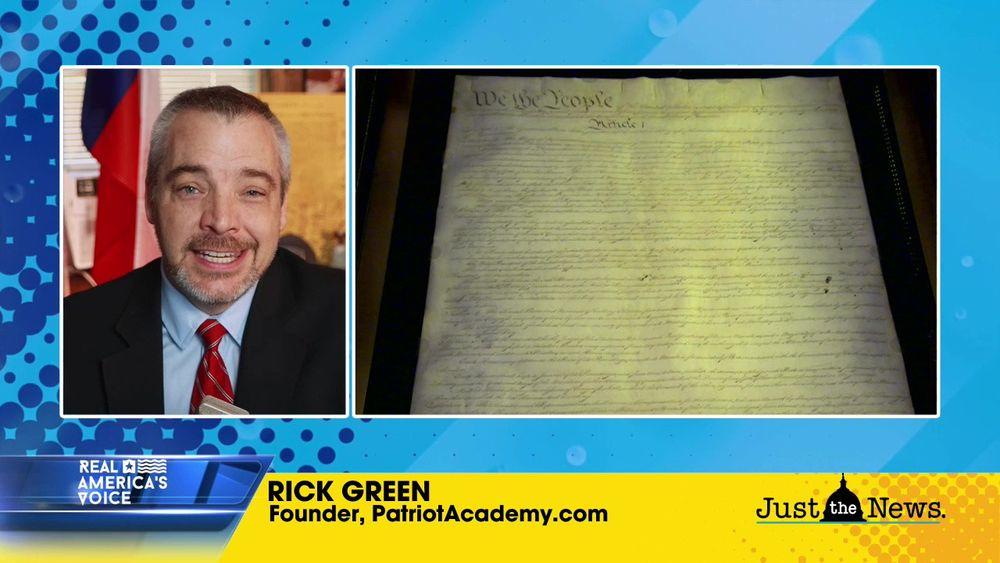 Rick Green, Founder, PatriotAcademy.com: on the constitutionality of the upcoming impeachment trial