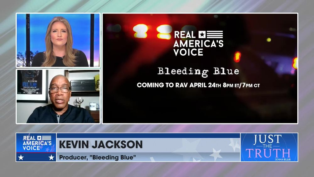 "Jenna Is Joined By Producer Of ""Bleeding Blue"", Kevin Jackson, To Discuss His New Movie"