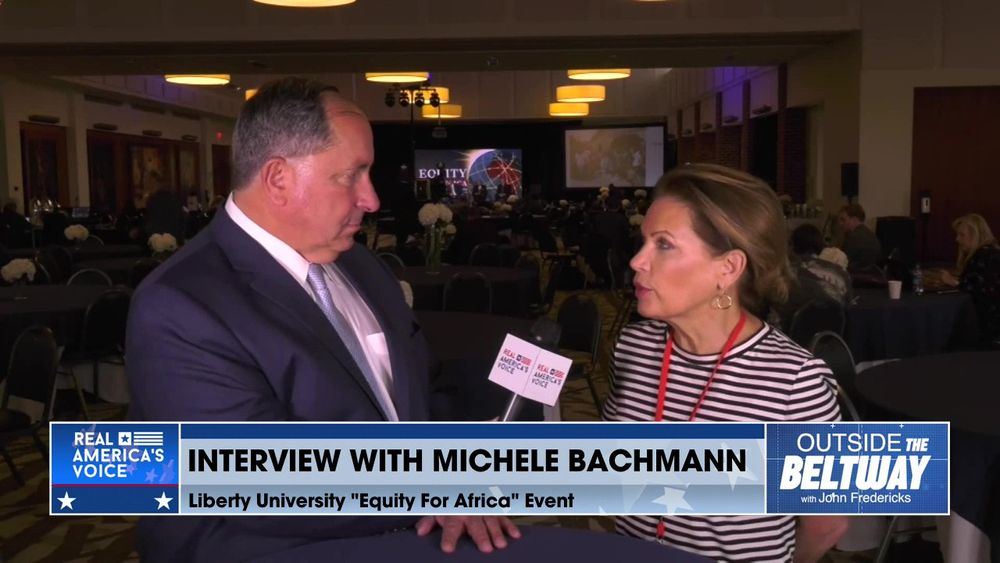 John Fredericks Interviews Michele Bachmann at The Equity for Africa Summit