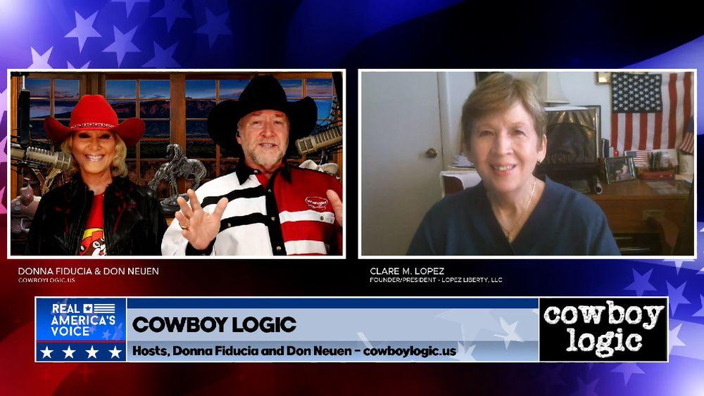 Cowboy Logic Segment 8 - Guest Clare Lopez