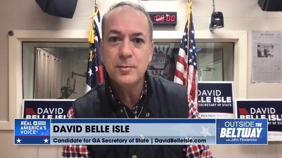 David Belle Isle; Candidate GA Sec. of State; Fulton County Election Officials Shredding Ballots