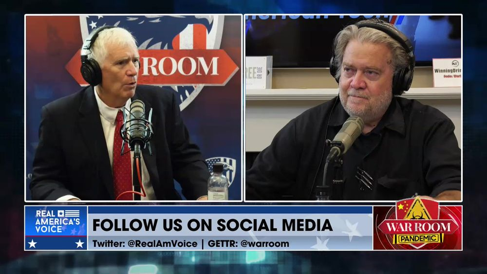 War Room Pandemic with Stephen K Bannon Episode 1222 Part 2