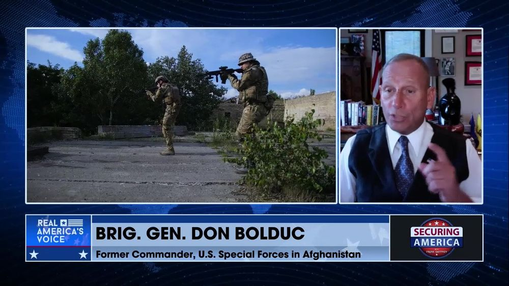 Frank Gaffney Talks With Brig. Gen. About The Situation in Afghanistan (Part 1)