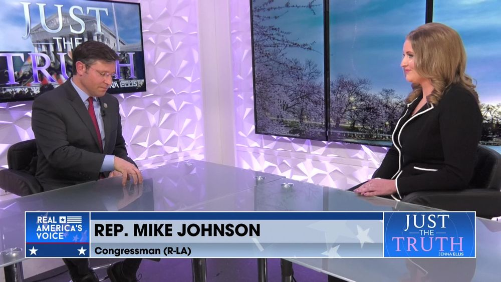 Congressman Mike Johnson w/Jenna Ellis pt2