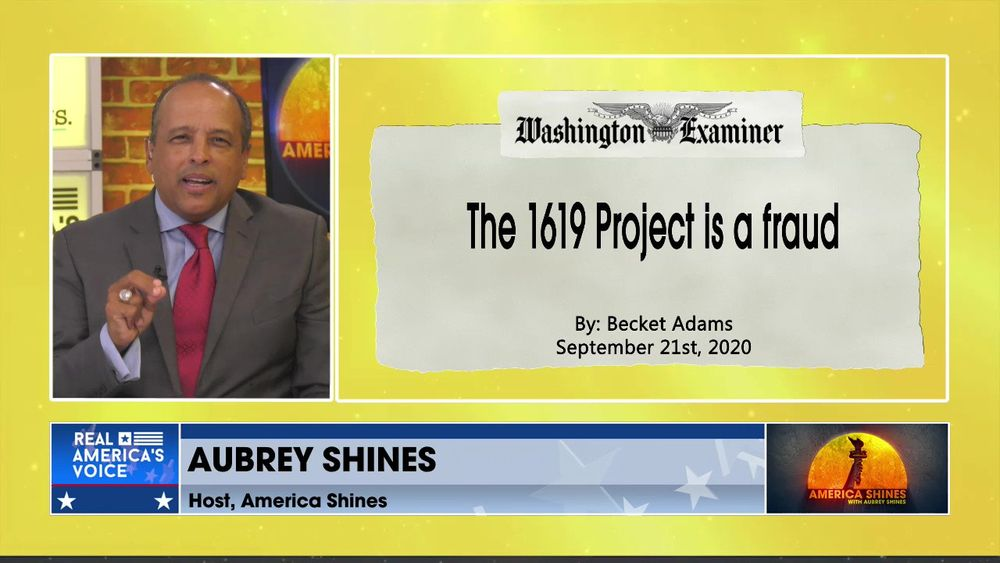 The Bottom Line, With Aubrey Shines - The Left lies about Black history